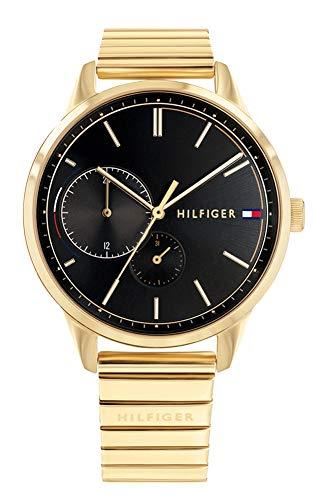 Tommy Hilfiger Damen Multi Zifferblatt Quarz Uhr mit Edelstahl Armband 1782019 -