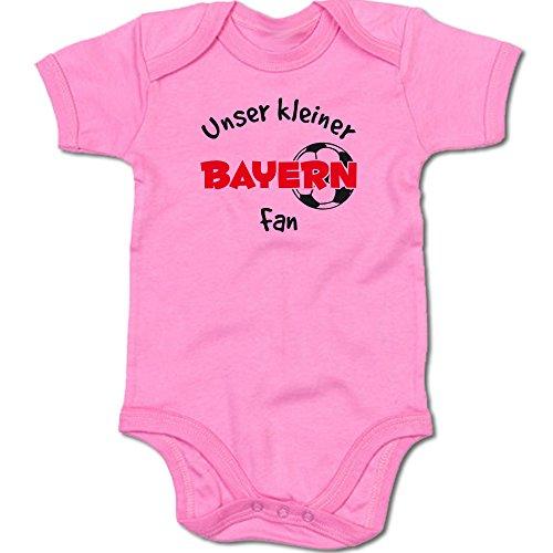 Unser Kleiner Bayern Fan Baby-Body Suite Strampler 250.0477 (12-18 Monate, pink)