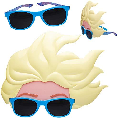 Unbekannt 2 Stück _ 3D Effekt - Sonnenbrillen - Disney die Eiskönigin - Frozen - 3 bis 12 Jahre - 100 % UV Schutz - UV 400 - polarisiert verspiegelt ()