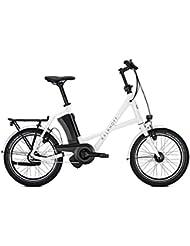 E-Bike Kalkhoff Sahel I8 Compact 8G 17 Ah Compact 20' Freilauf white glossy 2018 Rh 46 cm