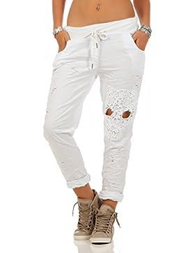 Damen Hose leichte Freizeithose