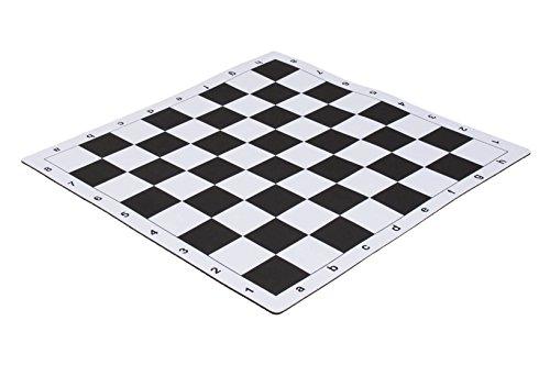 """Alfombrilla de ratón estilo torneo ajedrez Junta–2.25""""por nosotros Federación de Ajedrez, Negro"""