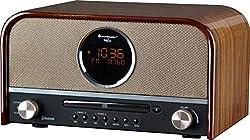 Soundmaster NR850 Nostalgieanlage DAB+ UKW USB Radio mit CD-MP3 und Bluetooth