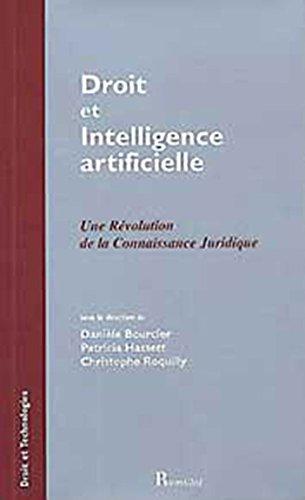 Droit et intelligence artificielle par Danièle Bourcier, Patricia Hassett, Christophe Roquilly
