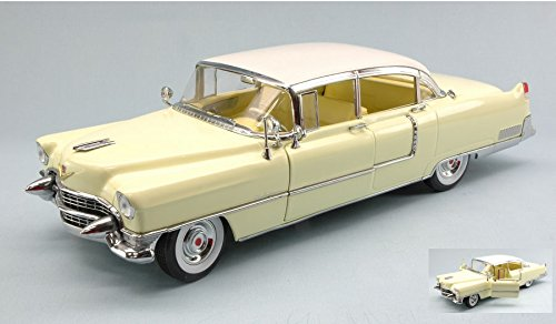cadillac-fleetwood-series-60-special-1955-light-yellow-118-greenlight-auto-stradali-modello-modellin