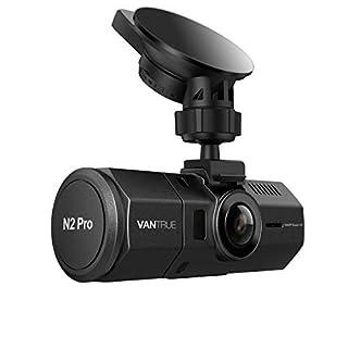 VANTRUE N2 Pro Dual Dashcam Infrarot Nachtsicht Dual 1080P Full HD Auto Kamera Vorne Hinten, Sony Sensor Car Camera (2560x 1440P vorne), 1.5
