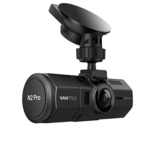 Vantrue N2 Pro Dual 1080P Dash Cam Front and Cabin Dashcam for Cars (2.5K 1440P Single Front) 1.5 inch 310° Car Camera Infrared Night Vision, Sony Sensor, Parking Mode, G-Sensor, Support 256GB Max Logo