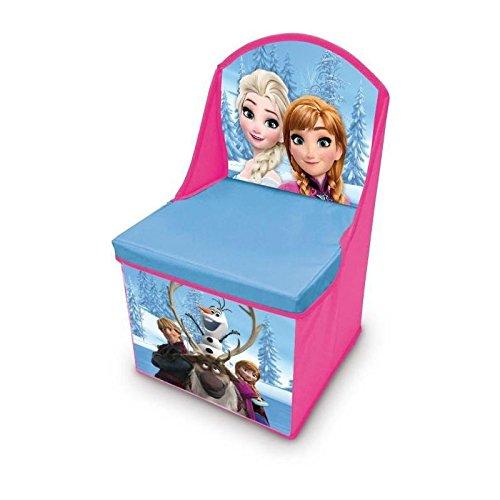 Unbekannt BETA Service EL51670 - Frozen Kindersessel mit Staufach