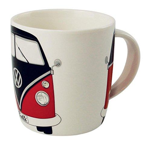 VW Collection by BRISA VW Bulli tazza da caffè nero/rosso