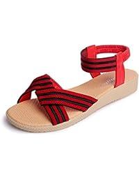 Gbs Mujer Audrey Zapatillas Calzado De Casa Zapatos Se?oras Rosa 36 UjommcNhy