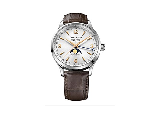 Louis Erard 1931 Automatic Watch, Silver, Leather Strap, 31218AA11.BDC21