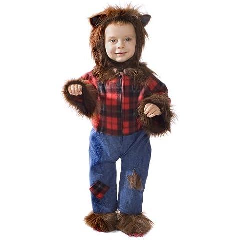 Dress Up America 489-6-12 - Costume da uomo lupo per bebè, 6-12 mesi, vita 69 cm, altezza 74 cm