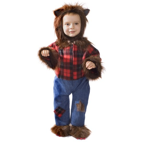 Dress Up America Nettes Baby Wolfman Hairy -