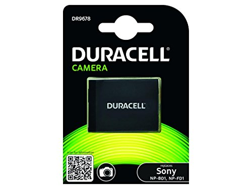 Duracell DR9678 Li-Ion Kamera Ersetzt Akku für NP-BD1