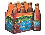 6 Flaschen Kona Bier Hanalei a 0,355l aus Hawaii Island Indian Pale Ale 4.5%