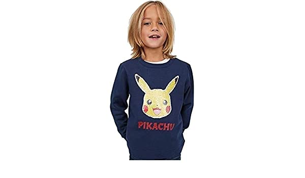 Betty-Boutique H/&M toca Boca Hooded Top with A Motif Size UK 4-6 Years Blue