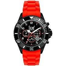 Ice-Watch CH.BR.B.S.10 - Cronografo da uomo, Taglia Grande, Colore: Rosso/Nero
