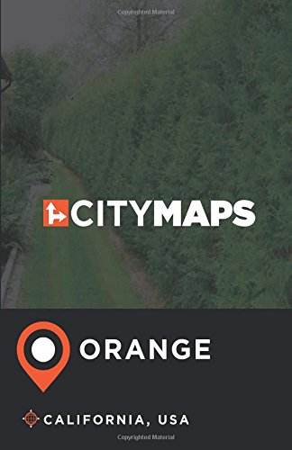City Maps Orange California, USA