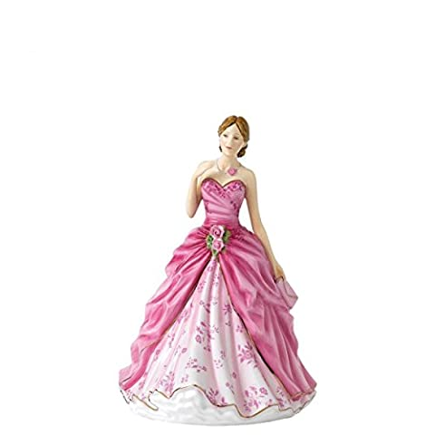 Royal Doulton - Grace - Petite Lady Figure of the Year 2017 In Box With Certificate
