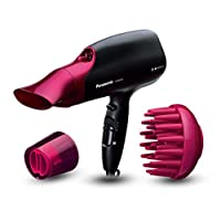 Panasonic EH-NA65 Pink Hair Dryer with nanoeTM technology, for visibly improved shine on your hair