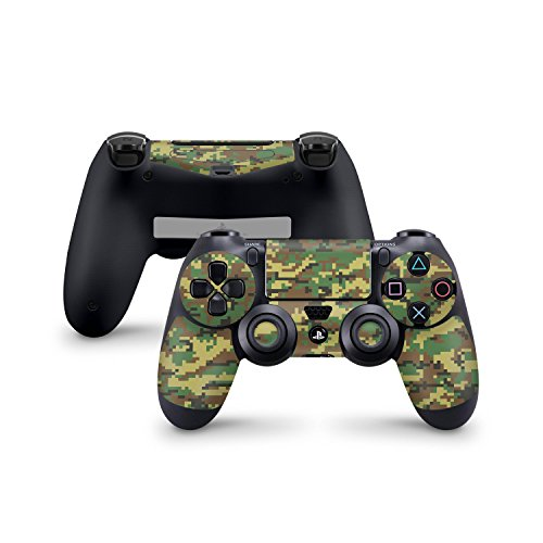 Skins4u Sony Playstation 4 Skin PS4 Controller Skins Design Sticker Aufkleber styling Set auch für Slim & Pro - Digital Woodland Camo