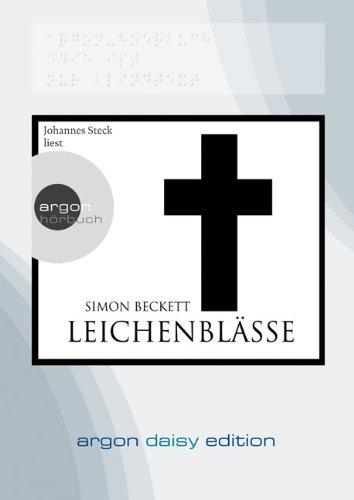 Buchseite und Rezensionen zu 'Leichenblässe (DAISY Edition)' von Simon Beckett