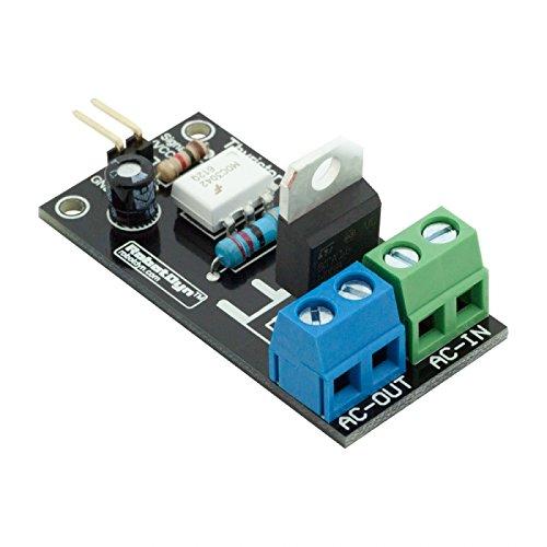 10Pcs Thyristor Ac Switch Relay Modul 3.3V/5V Logic Ac 220V/5A Peak 10A - Drive Logic Board