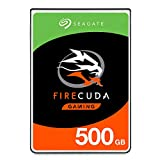Seagate 500 GB FireCuda Gaming SSHD Disque dur interne hybride 2.5' pour PC et PS4 (ST500LXZ25/LX025)