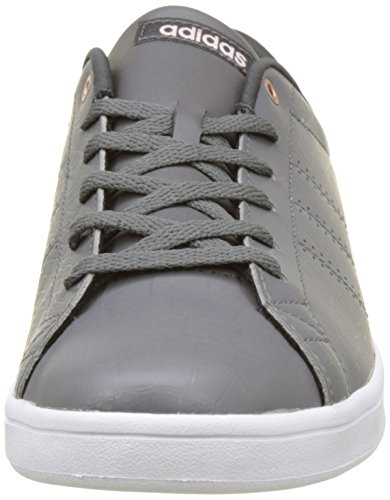 adidas Damen Advantage CL QT W Laufschuhe Grau (Grey Four/grey Four/utility Black)