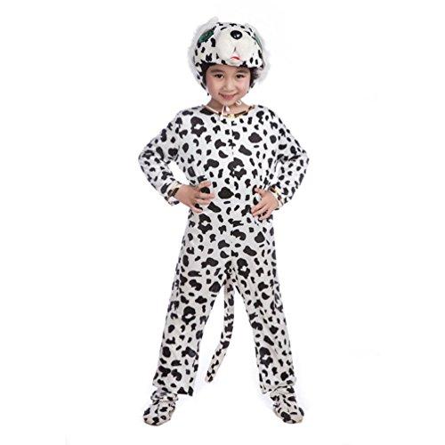 Honeystore Kind's Unisex Jumpsuit Kostüm Pyjamas Tier Siamesische Kleidung Tier Cosplay (Zwillinge Ideen Siamesische Kostüm)
