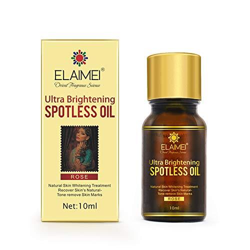 Natürliches, Ultra Aufhellendes, Fleckenloses Öl, Rose Essential Skin Whitening Serum -...