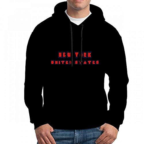 ruziniujidiangongsi Sweatshirt for Men Newyork Unitedstates Hoodie