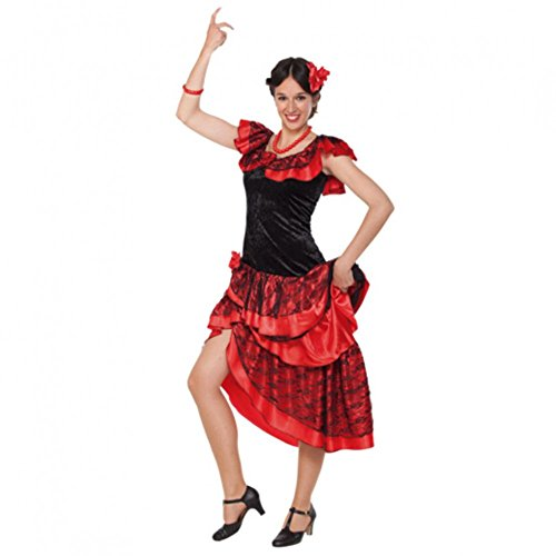 Kostüm Spanierin Gr. 40/42 Kleid Tänzerin Francesca Mexiko Salsa Brasilien