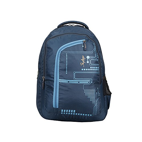 Skybags 29 Ltrs Dark Blue Laptop Backpack (LPBPROU3DBL)