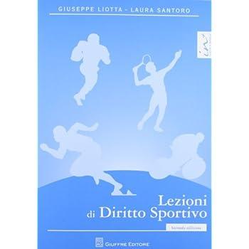 Lezioni Di Diritto Sportivo