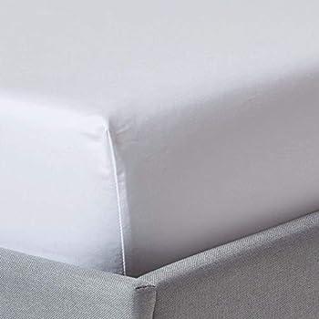 Betttuch aus 100/% /ägyptischer Baumwolle wei/ß Fadenzahl 400. Super King