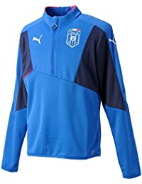 PUMA Shirt FIGC Italia Stadium Top - Camiseta de equipación de fútbol para hombre, color azul (team power blue/peacoat), talla xl
