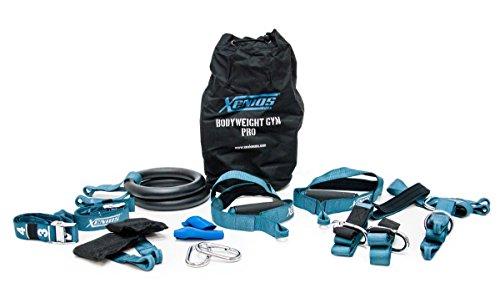 Xenios USA Bodyweight Gym suspension Training Kit Pro, PSBDWTGY01