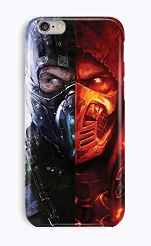 iPhone 6 6s [4.7'] 3D Teléfono Smartphone Case Caso Mortal Kombat Scorpion Sub-Zero Raiden Shang Tsung 14 Diseños