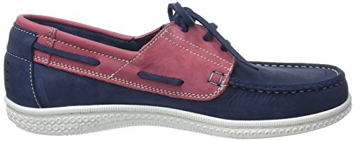 40f1599b57a0dd ... TBS Yolles D8, Chaussures Bateau Hommes Bleu marine/rose (Outremer  Goyave)