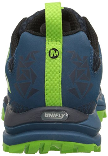 Merrell All Out Crush Light, Scarpe da Trail Running Uomo Verde (Bright Green)