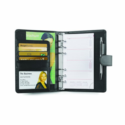 Cescahide A6 Leather Personal Organiser with Strap for sale  Delivered anywhere in Ireland