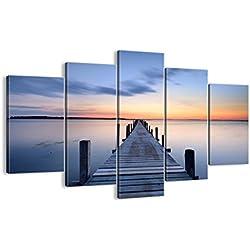 Bild auf Leinwand - Leinwandbilder - fünf Teile - Breite: 150cm, Höhe: 100cm - Bildnummer 2508 - fünfteilig - mehrteilig - zum Aufhängen bereit - Bilder - Kunstdruck - EA150x100-2508