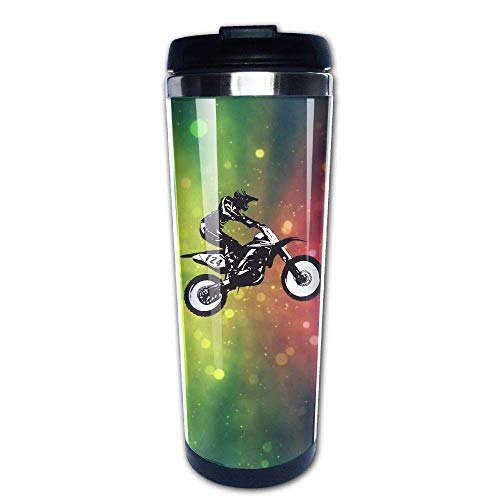 Got Dirt Bike Motorcross Racing 400ml Stainless Steel Coffee Cup Tea Mug Travel Vacuum Insulated Mugs Hot Cold Tumbler