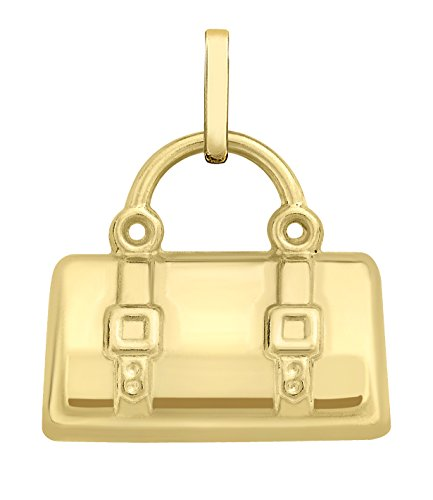 Carissima Gold 9ct Yellow Gold Travel Holdall Charm Pendant