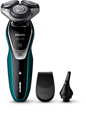 Philips SHAVER Series 5000 - Afeitadora (Máquina de afeitar de rotación, LED, Batería)