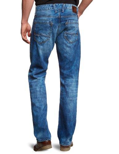 Mavi Herren Jeans Normaler Bund PIERRE; 0020915309 Blau (15309; PIERRE; foggy true blue denim)