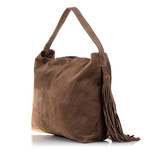 Sxtcqhdbr Da Donna Pelle Artegiani Shopping Borsa Bag Vera Firenze 3R4jL5A