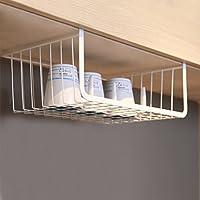 Moyad Under Shelf Basket Hanging Storage Wrap Rack Organizer For Kitchen  Cabinet Pantry Wardrobe Office Desk