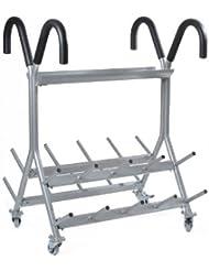 Oliver Rollständer für 20 Prime Pump Sets Hantelständer Maße 110 x 95 x 160 cm